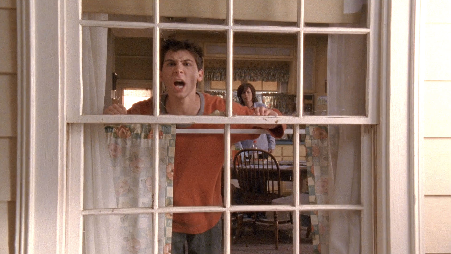 Justin Berfield (Reese) et Jane Kaczmarek (Lois) dans