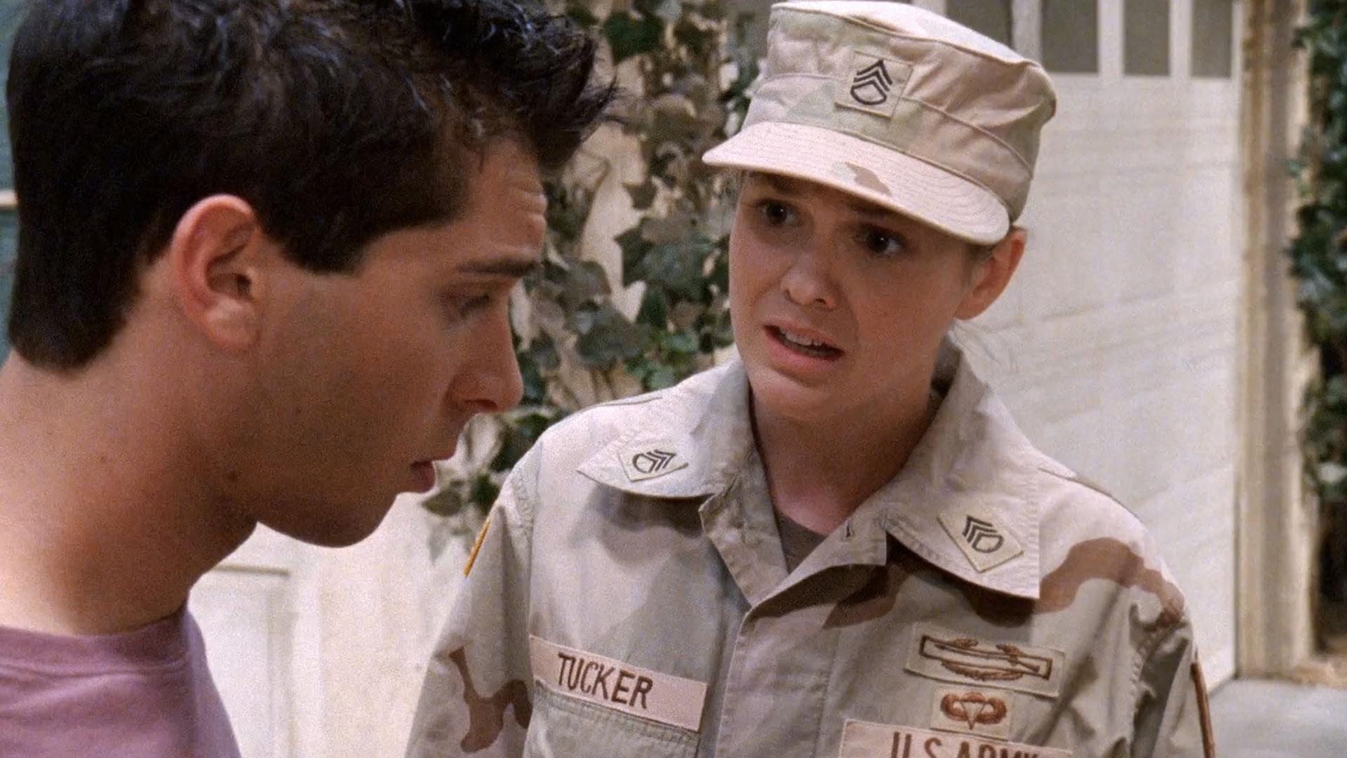 Justin Berfield (Reese) et Larisa Oleynik (Abby) dans