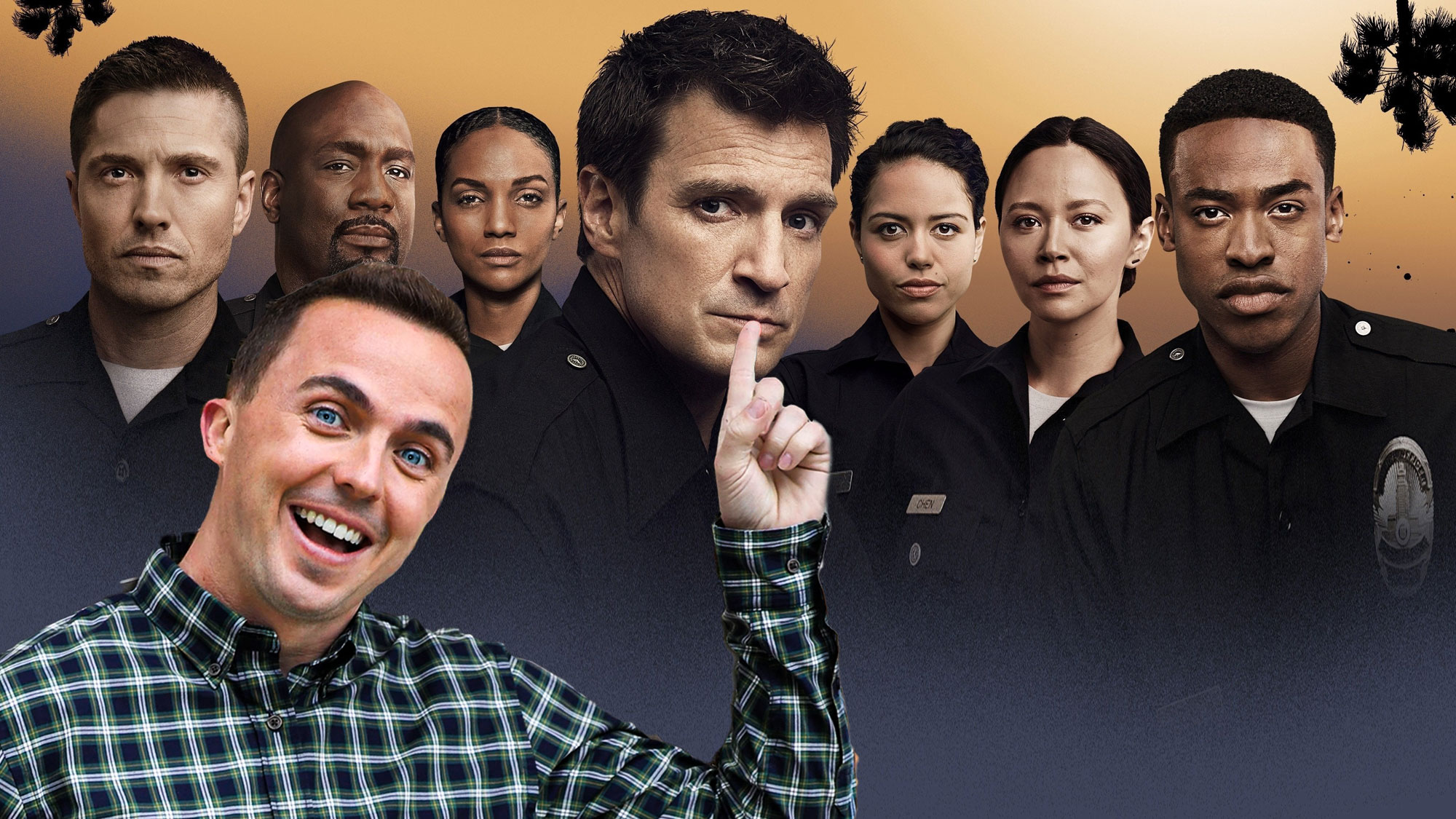 Frankie Muniz en guest dans un épisode de <em>The Rookie</em>