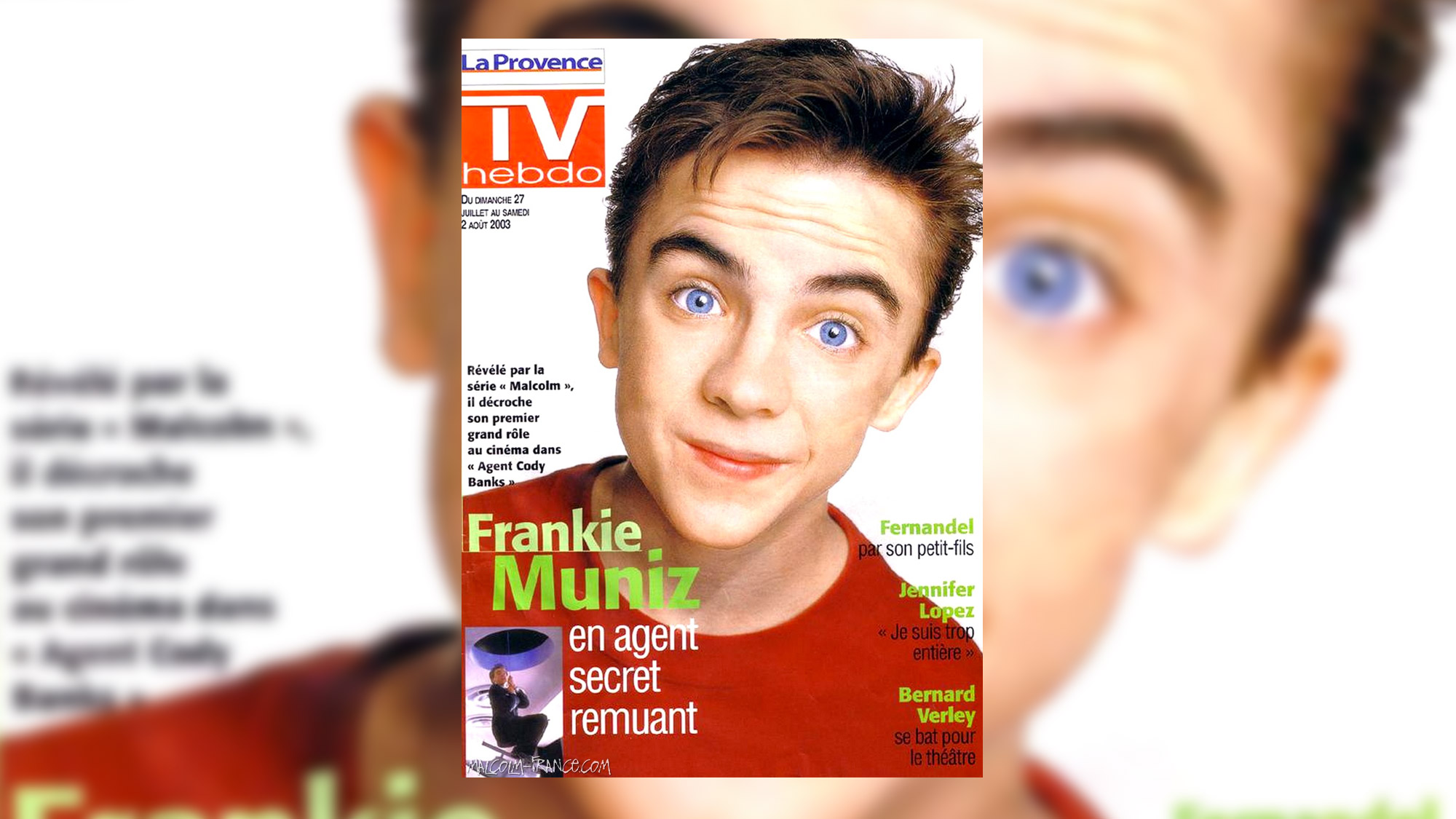 Frankie Muniz en agent secret remuant