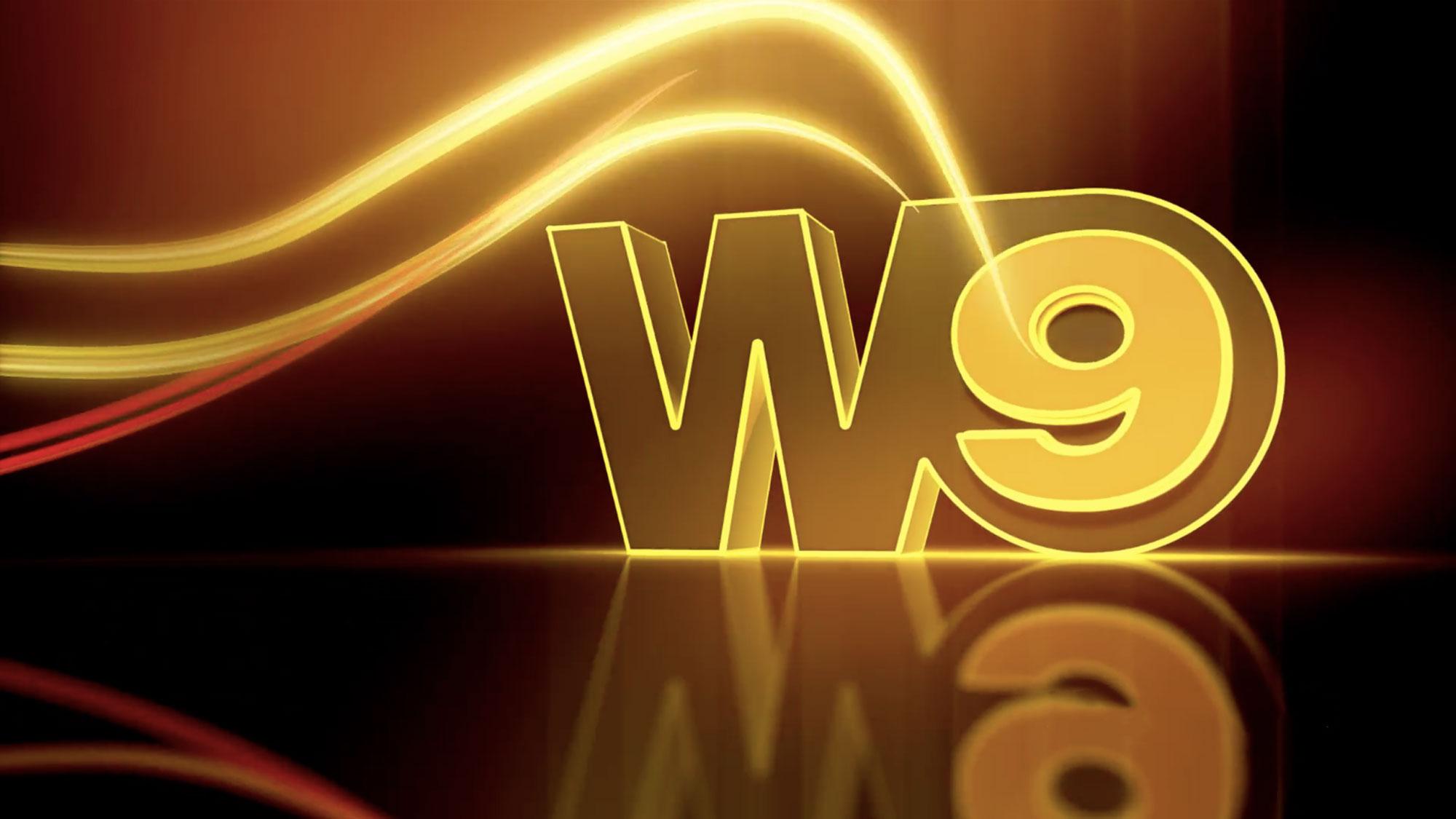 L'habillage de W9.