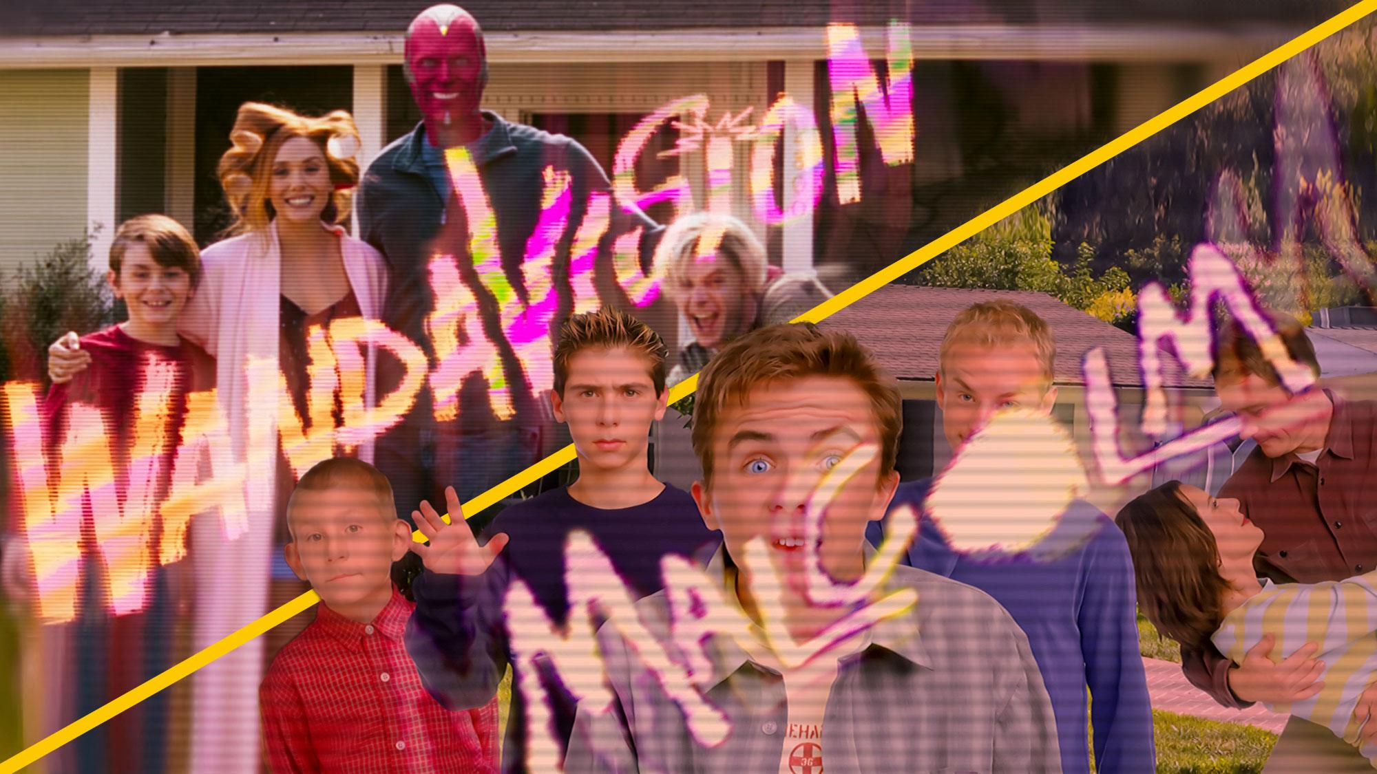 VIDÉO. Le dernier épisode de <em>WandaVision</em> rend hommage à la série <em>Malcolm</em> !